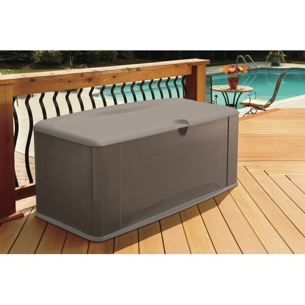 121 Gallon Plastic Deck Box by Rubbermaid Rubbermaid