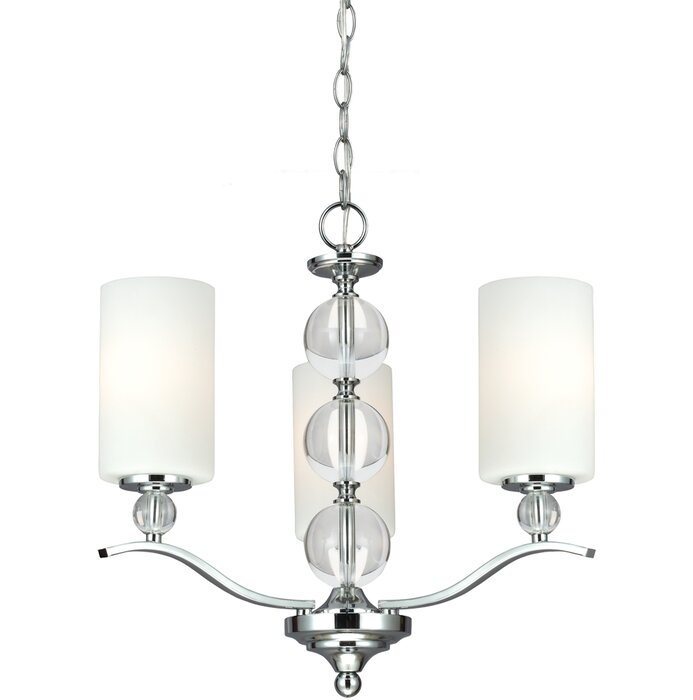 House of Hampton Astoria 3-Light Shaded Traditional Chandelier