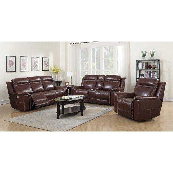 Ruvalcaba Reclining Configurable Living Room Set by Charlton Home