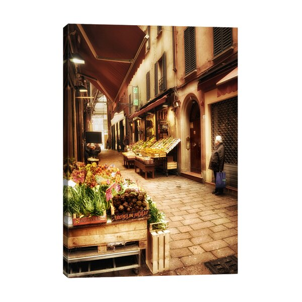 Grocery Shopping by Dano Photographic Print on Wrapped Canvas by Jaxson Rea