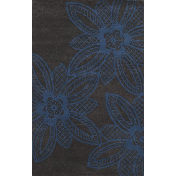 Sukhumi Hand-Tufted Blue/Grey Area Rug by Meridian Rugmakers