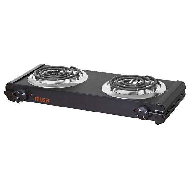 Electric Double Burner by IMUSA