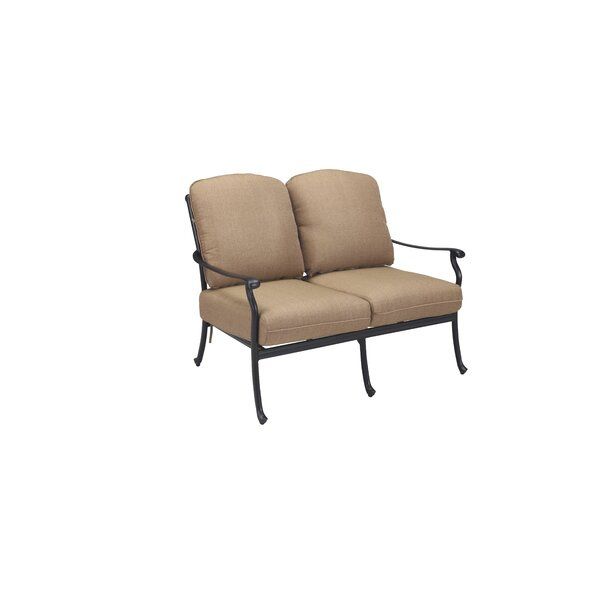 Carder Loveseat with Cushions by Darby Home Co
