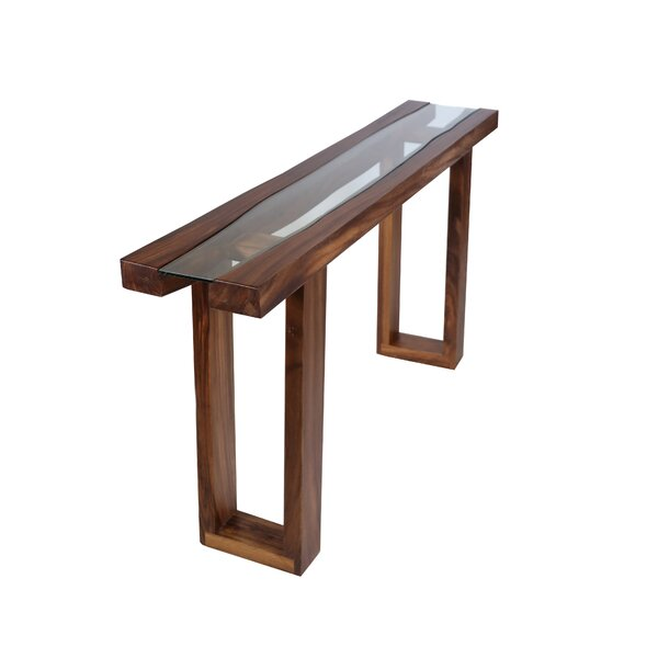 Desiree Live Edge Console Table by Foundry Select