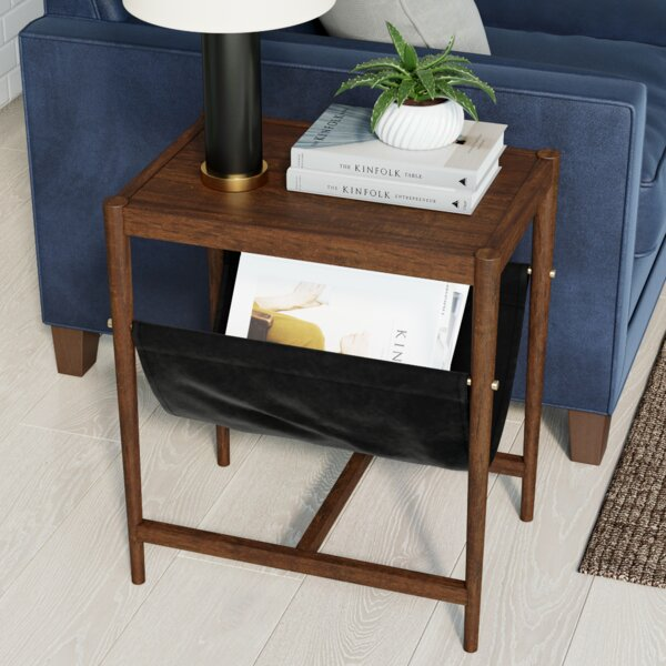 Folkston End Table With Storage By George Oliver