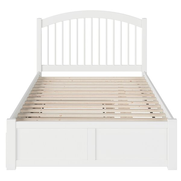 Holliston Full Platform Bed with Trundle by Harriet Bee