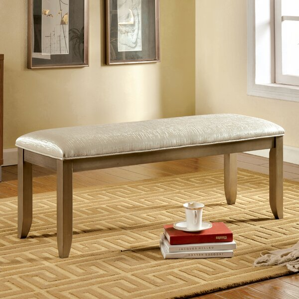Jemmy Upholstered Bench by Hokku Designs