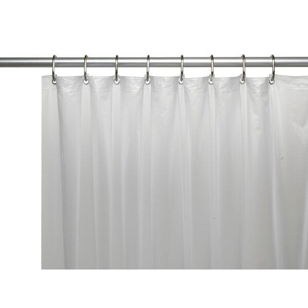 Ben and Jonah Vinyl 5 Gauge Shower Curtain Liner with Metal Grommets ...