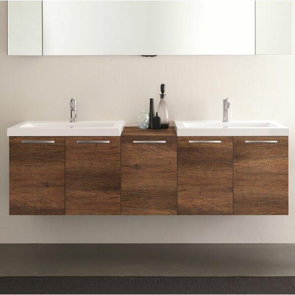 Mirando 69 Wall Mounted Double Bathroom Vanity Set