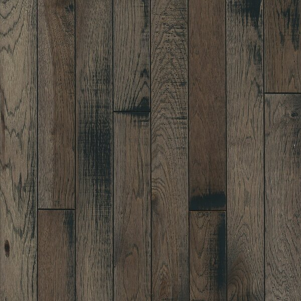 3-1/4 Solid Hickory Hardwood Flooring in Inspired Gray by Armstrong Flooring
