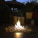 Blue Rhino Uniflame Ceramic Tile Lp Gas Fire Pit Table