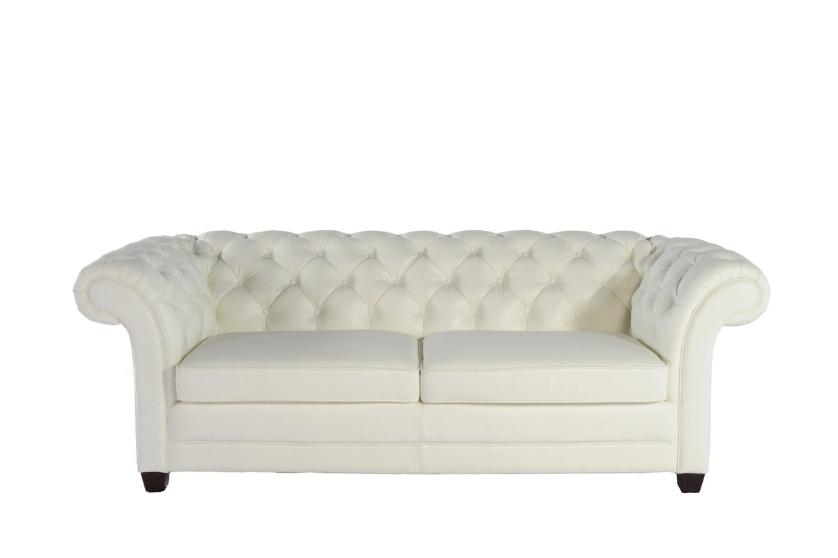 Exceptional Leather Chesterfield Sofa