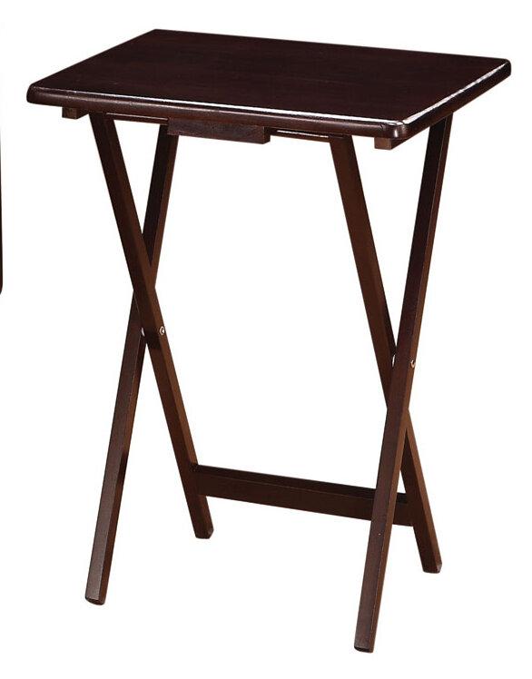 sc 1 st  Wayfair & Wildon Home ® 5 Piece Tray Table Set u0026 Reviews   Wayfair
