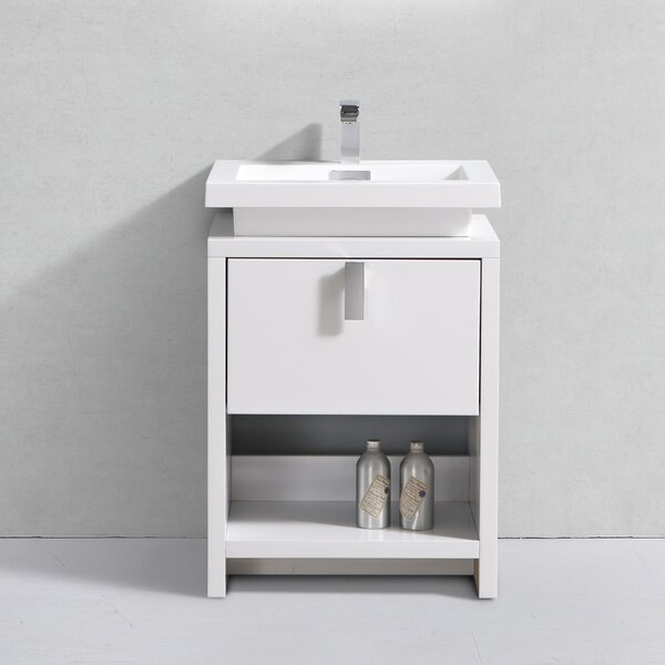 Haycraft 24 Single Bathroom Vanity Set by Orren Ellis