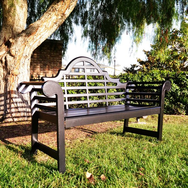 ⊗Longest 〚 Lutyens Aluminum Garden Bench By Innova Hearth