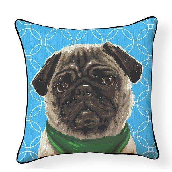 Griswalda Puppy Indoor/Outdoor Throw Pillow