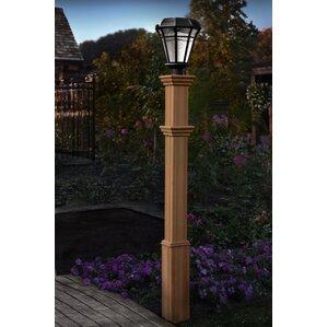 Solar Powered Post Lights You'll Love   Wayfair