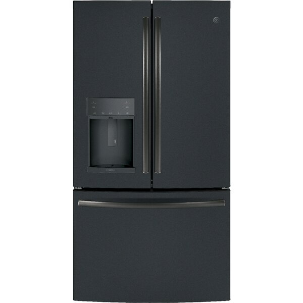 22 cu. ft. Energy Star® Counter-Depth French Door Refrigerator by GE Profile™