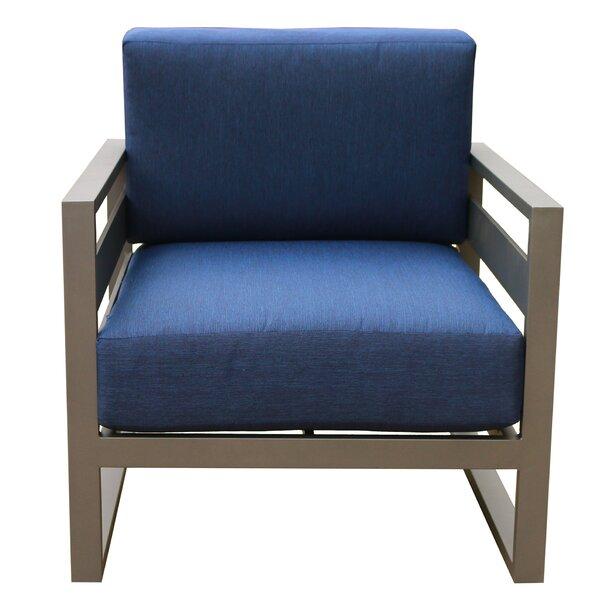 Hearne Patio Chair With Cushions (Set Of 2) By Orren Ellis by Orren Ellis Cheap