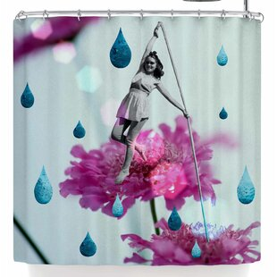 Shopping for Rosa Picnic Walk In The Garden Shower Curtain ByEast Urban Home