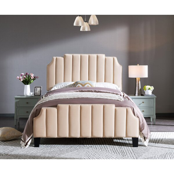 Lancashire Upholstered Platform Bed by Ivy Bronx