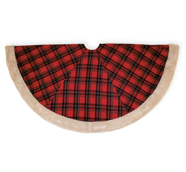 Christmas Plaid 56 Tree Skirt by The Holiday Aisle