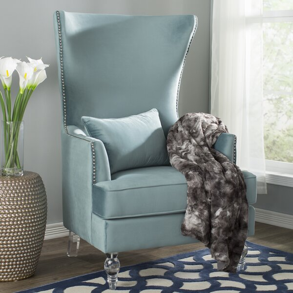 Jacinto Wingback Chair by Willa Arlo Interiors Willa Arlo Interiors