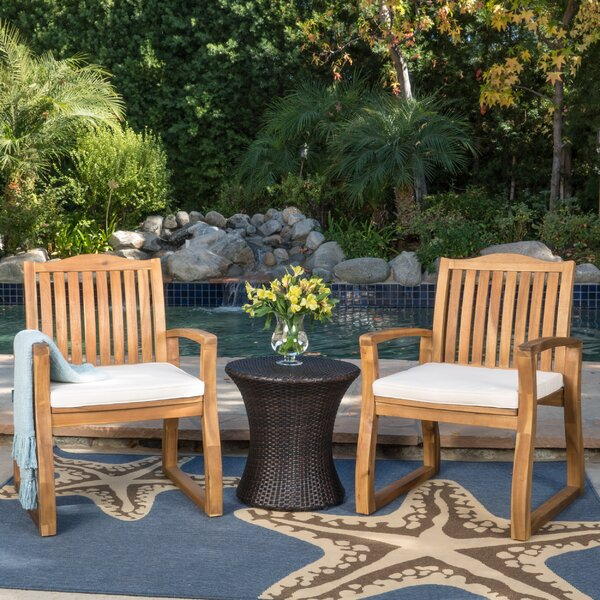 Erondelle 3 Piece Conversation Set with Cushions by Laurel Foundry Modern Farmhouse