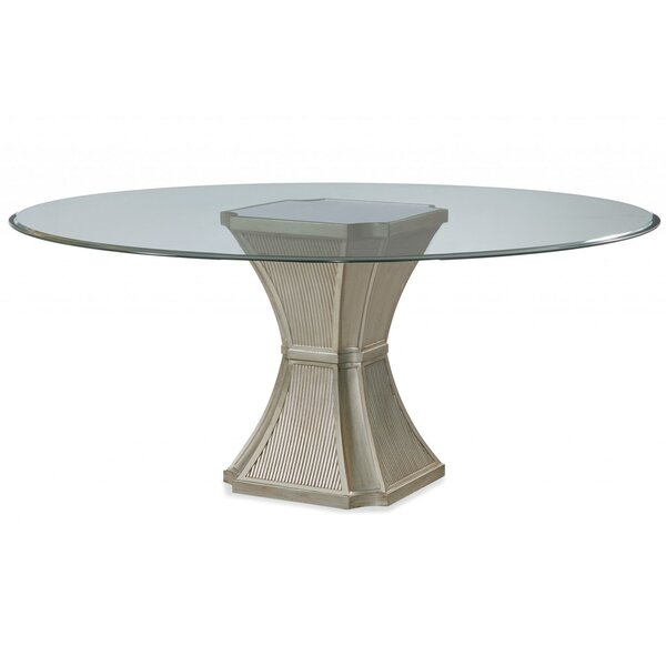 Piazza Modern Dining Table by House of Hampton