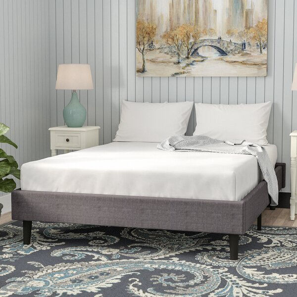 Rockport Upholstered Platform Bed by Andover Mills