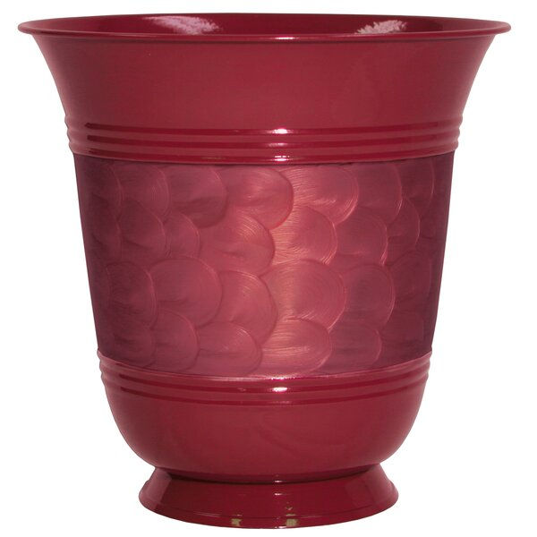 Steel Pot Planter by Robert Allen Home and Garden