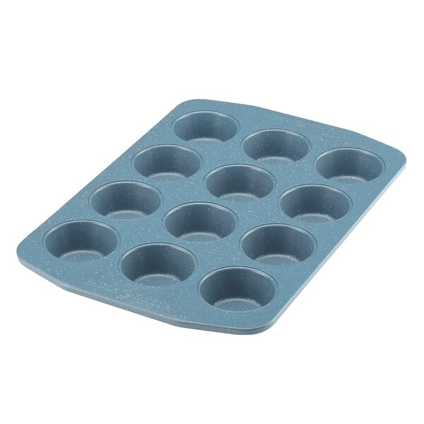 Non-Stick 12 Cup Muffin and Cupcake Pan by Paula Deen