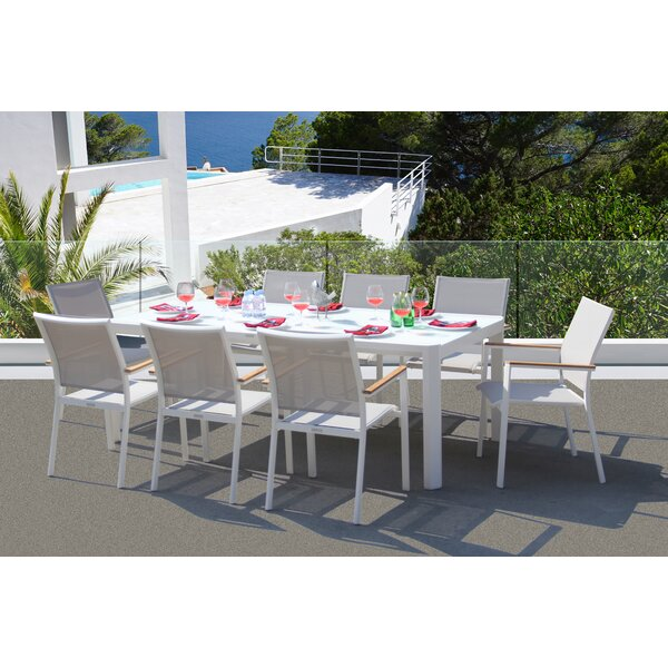 Essense 9 Piece Dining Set by Bellini Home and Garden
