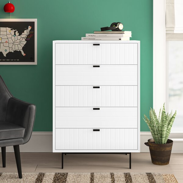 Arnett 5 Drawer Chest by Trule Teen