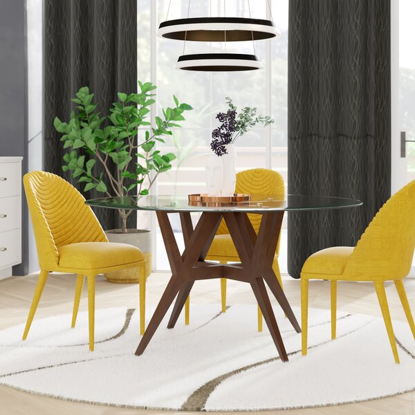 Veronika Dining Table by Wrought Studio