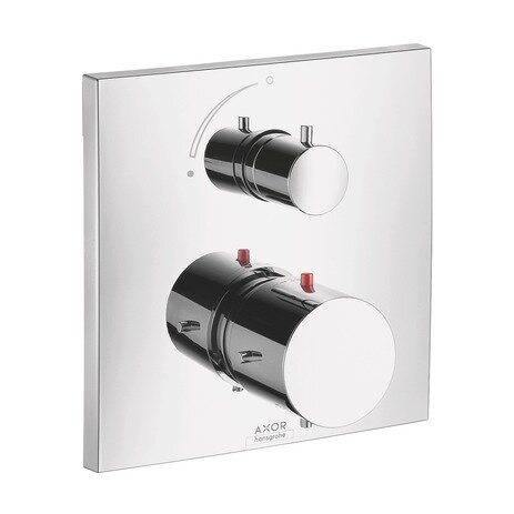 Axor Starck X Trim Thermostatic with Volume Control by Axor