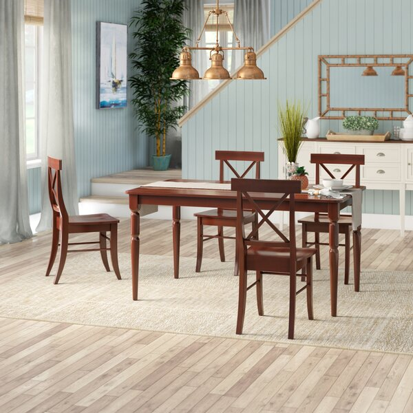 Brookwood 5 Piece Dining Set by Beachcrest Home Beachcrest Home