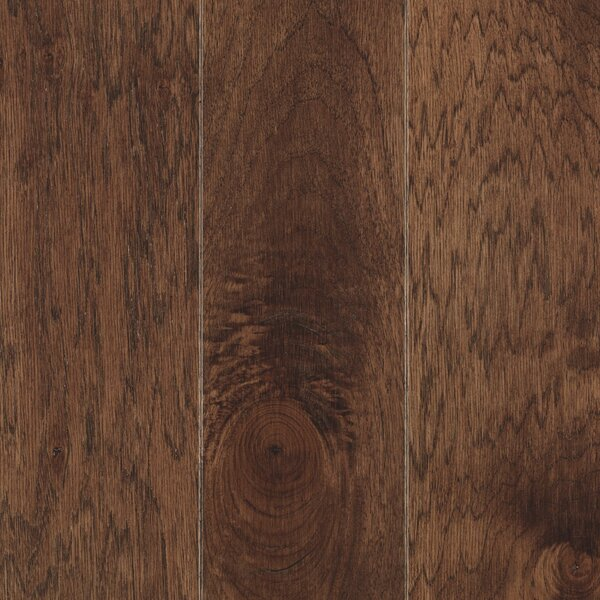 La Grotta 5 Engineered Hickory Hardwood Flooring in Truffle by Mohawk Flooring
