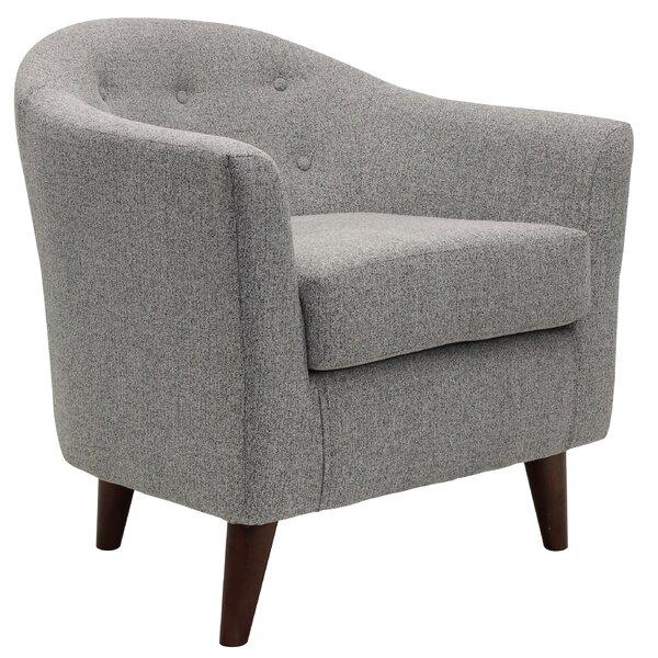 Schroer Barrel Chair by Brayden Studio