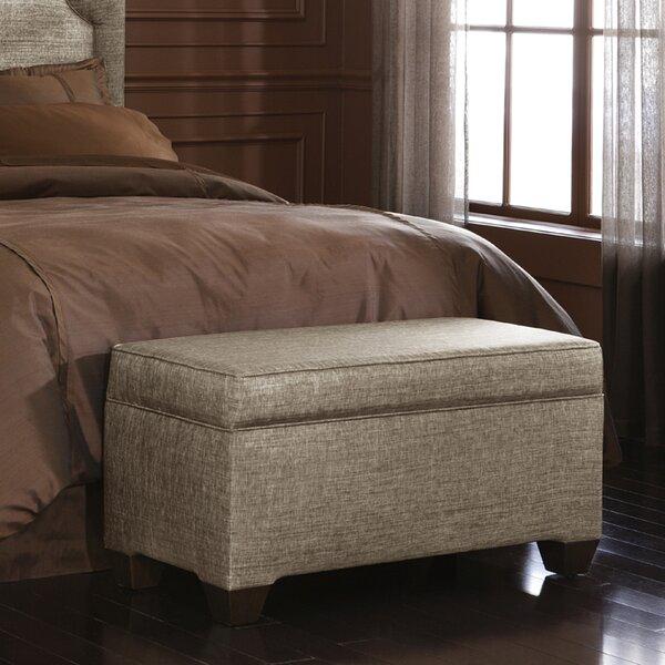 Glitz Upholstered Storage Bench by Skyline Furniture