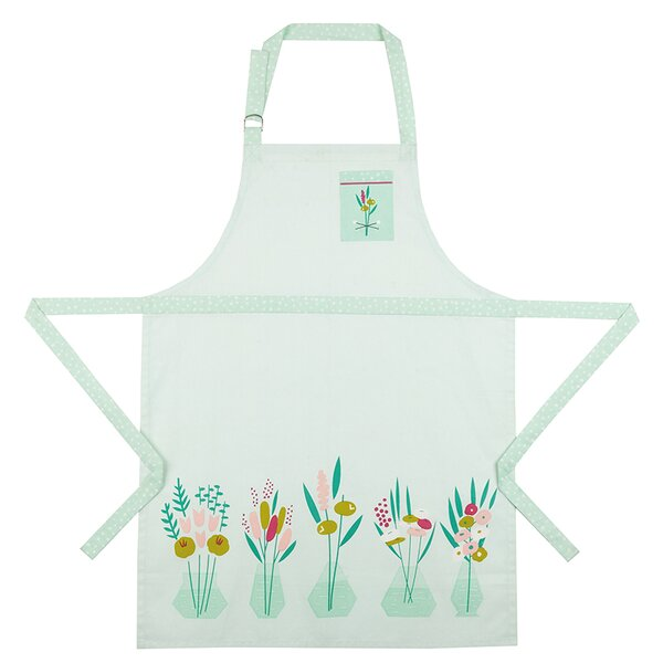 Pretty Posies Cotton Apron by Elizabeth Olwen