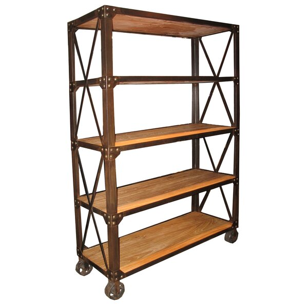 Old Elm Etagere Bookcase by Noir