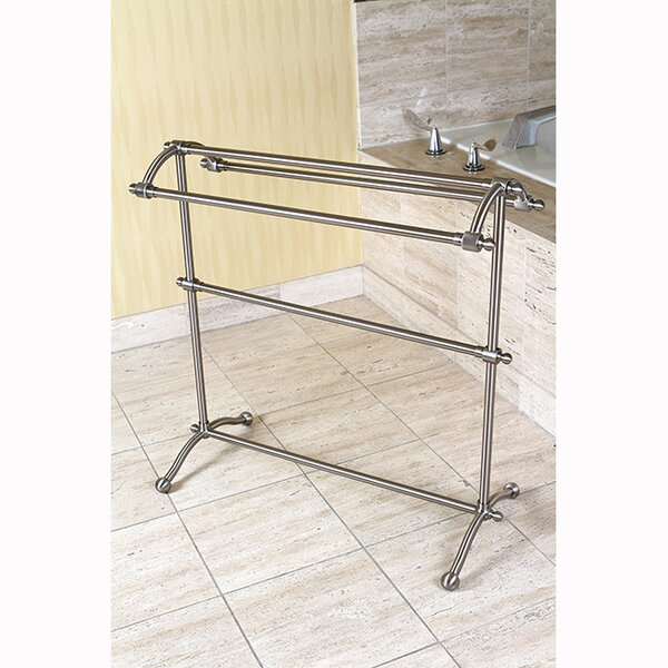 Vintage Free Standing Towel Stand by Kingston Brass