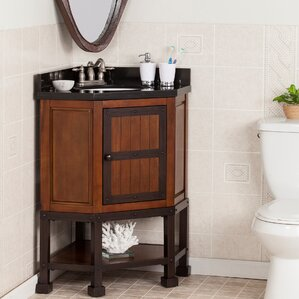 clarksburg 34 single corner bath vanity set