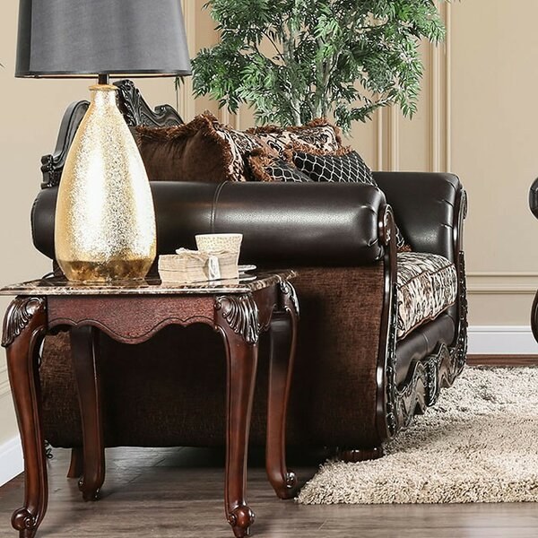 Saldana Loveseat By Fleur De Lis Living Herry Up