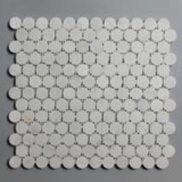 Marble Penny Round Mosaic Subway Wall & Floor Tile