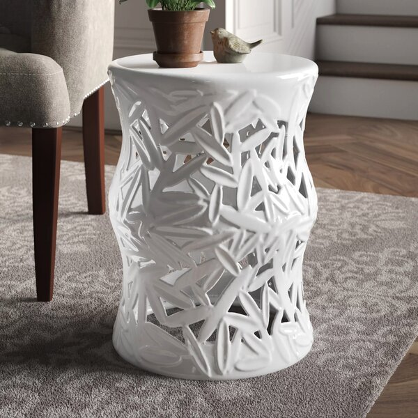 Swanson Ceramic Garden Stool by Canora Grey