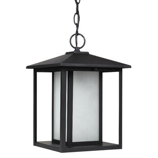 Top Reviews Hayner 100W 1-Light Outdoor Pendant By Three Posts