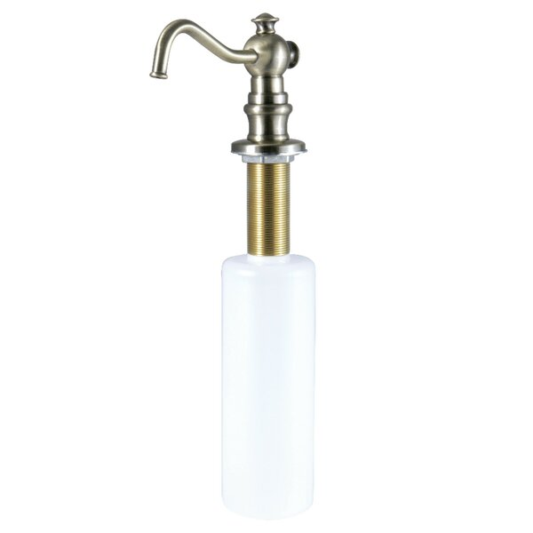 Curved Nozzle Metal Soap Dispenser by Kingston Brass