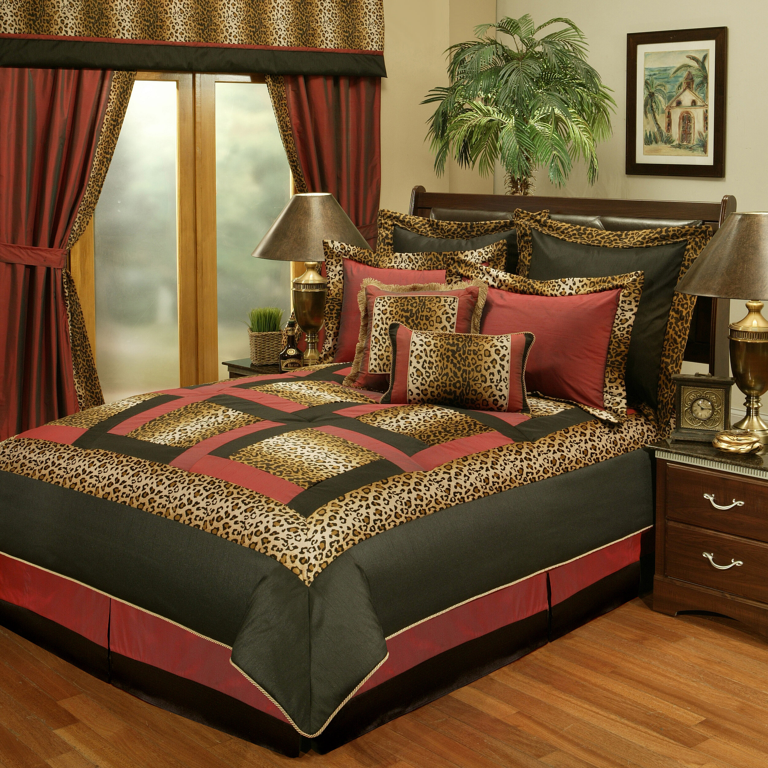 Genial Sherry Kline Jungle Passage Cheetah 8 Piece Reversible Comforter Set U0026  Reviews | Wayfair